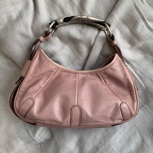Yves Saint Laurent Leather Mombasa hobo bag